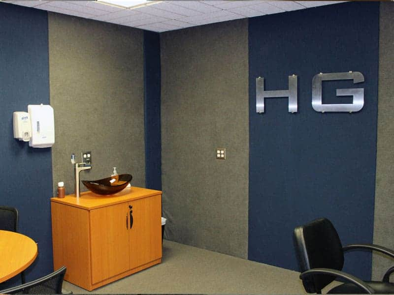 Interior Wait Area Hearing Group Emporia, KS