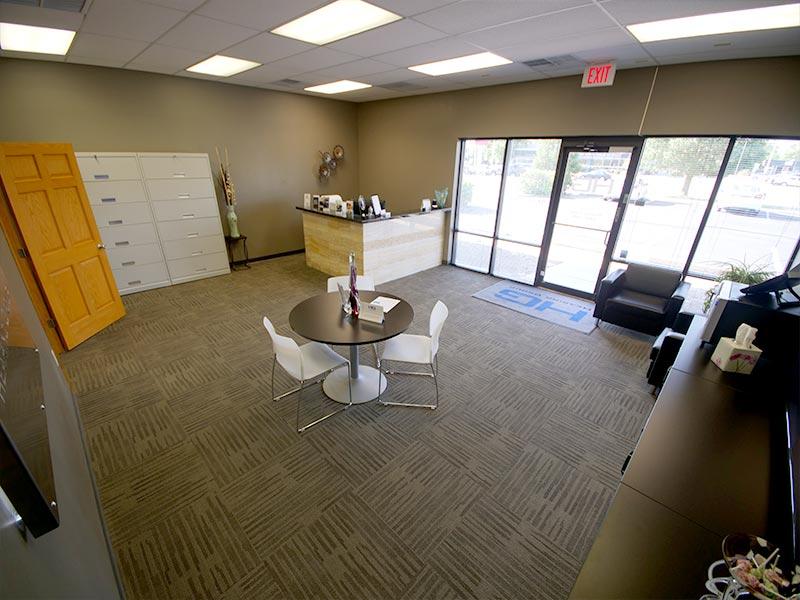 Hearing Group East Wichita, KS Interior Waiting Area