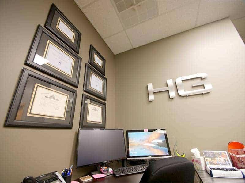 Hearing Group East Wichita, KS Interior Office