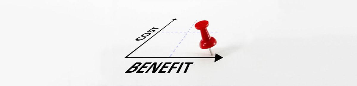 Cost vs Benefit
