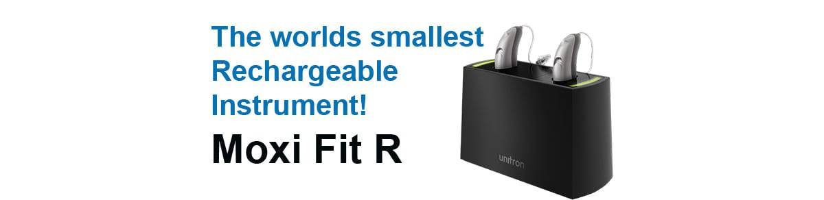 Rechargeable hearing aids from Unitron