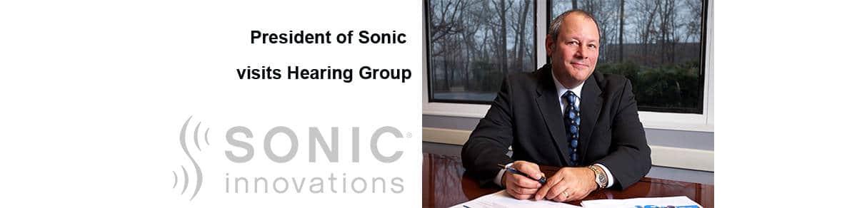 President of Sonic Hearing