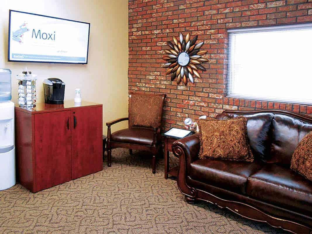 Enid Interior Waiting Room