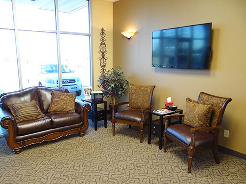 Office Waiting Room Interior