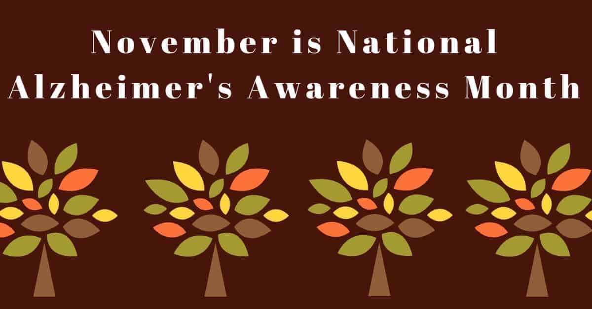 Hearing Group November is National Alzheimer's Awareness Month