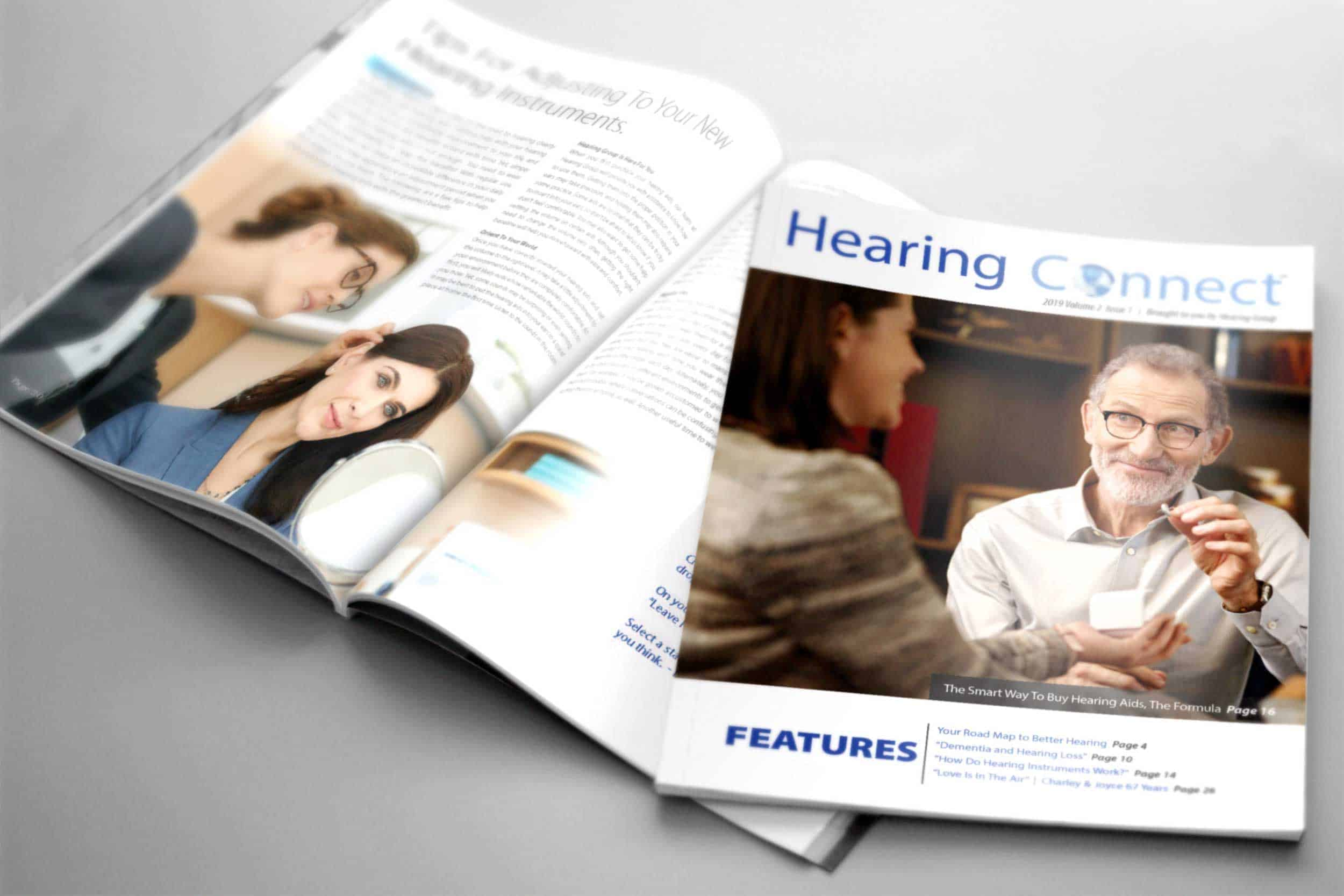 Hearing Group's Hearing Connect Magazine