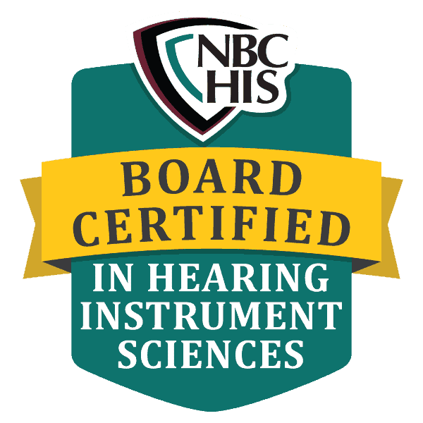 BC-HIS, Board Certified in Hearing Instrument Sciences