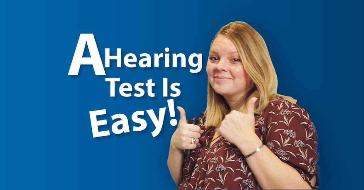A Hearing Test Is Easy